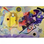Puzzle  Ravensburger-14848 Vassily Kandinsky - Yellow - Red - Blue
