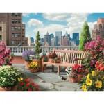 Puzzle  Ravensburger-14868 XXL Pieces - Rooftop Garden