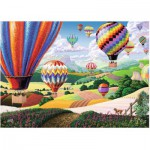 Puzzle  Ravensburger-14871 XXL Pieces - Brilliant Balloons