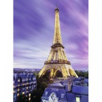 Puzzle  Ravensburger-14898 Starline - Eiffel Tower