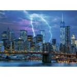 Puzzle  Ravensburger-14909 Star Line - Lightning over New York