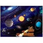 Ravensburger-14926 Jigsaw Puzzle - 500 Pieces - Glow in the Dark - Solar System