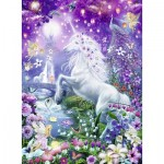 Ravensburger-14951 Brilliant Puzzle - Unicorn