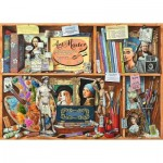 Puzzle  Ravensburger-14997 Artist Room