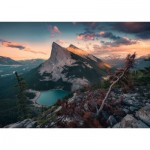 Puzzle  Ravensburger-15011 Nature Edition No 16 - An Evening in the Rocky Mountains