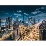 Puzzle  Ravensburger-15017 View of Dubai