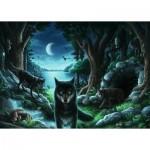 Ravensburger-15028 Exit Puzzle - Wolf Stories