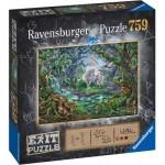 Ravensburger-15030 Exit Puzzle - Unicorn