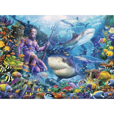 Puzzle Ravensburger-15039 King of the Sea