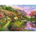 Puzzle  Ravensburger-15041 Villa