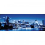 Puzzle  Ravensburger-15050 Panoramic : New York Lights