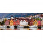 Puzzle  Ravensburger-15090 Bergen, Norway