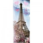 Puzzle  Ravensburger-15103 Eiffel Tower