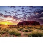 Puzzle  Ravensburger-15155 Ayers Rock in Australia