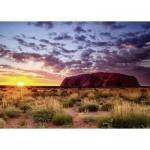 Puzzle  Ravensburger-15155 Ayers Rock in Australia