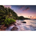 Puzzle  Ravensburger-15156 Praslin, Island in the Seychelles