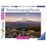 Puzzle  Ravensburger-15157 Stratovolcano Mount Hood in Oregon, USA