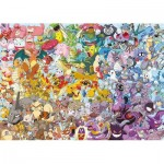 Puzzle  Ravensburger-15166 Pokemon