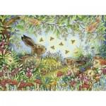 Puzzle  Ravensburger-15172 Magic Forest