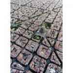 Puzzle  Ravensburger-15187 Barcelona from above