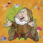 Puzzle  Ravensburger-15241 Disney - Sneezy