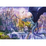 Puzzle  Ravensburger-15252 The Castle of the Dragons