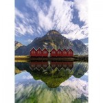 Puzzle  Ravensburger-15256 Sunndalsora, Norway