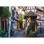 Puzzle  Ravensburger-15257 Eguisheim in Alsace
