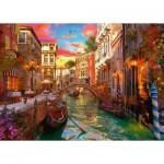 Puzzle  Ravensburger-15262 Romance in Venice