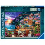 Puzzle  Ravensburger-15263 Dinner in Positano, Italy