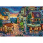 Puzzle  Ravensburger-15265 Evening in Paris