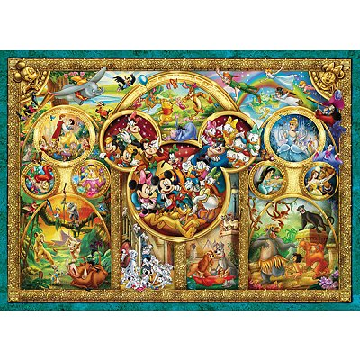 Ravensburger-15266 Jigsaw Puzzle - 1000 Pieces - Disney's Magical World