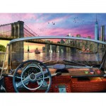 Puzzle  Ravensburger-15267 Bridge in Brooklyn