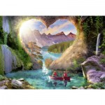 Puzzle  Ravensburger-15272 The Cave of Love