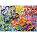 Ravensburger-15274 Colorful Puzzle