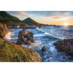 Puzzle  Ravensburger-15287 Big Sur Sunset