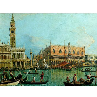 Ravensburger-15402 Jigsaw Puzzle - 1000 Pieces - Canaletto : Ducal Palace