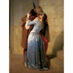 Ravensburger-15405 Jigsaw Puzzle - 1000 Pieces - Francesco Hayez : The Kiss