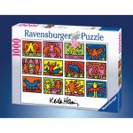 Ravensburger-15615 Jigsaw Puzzle - 1000 Pieces - Keith Haring : Retrospective
