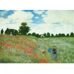 Ravensburger-15628 Jigsaw Puzzle - 1000 Pieces - Monet : Poppies' Field