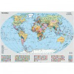 Ravensburger-15652 Jigsaw Puzzle - 1000 Pieces - Political World Map