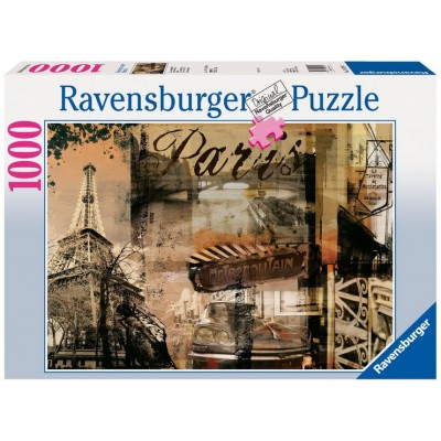 Ravensburger-15729 Jigsaw Puzzle - 1000 Pieces - Parisian Memories