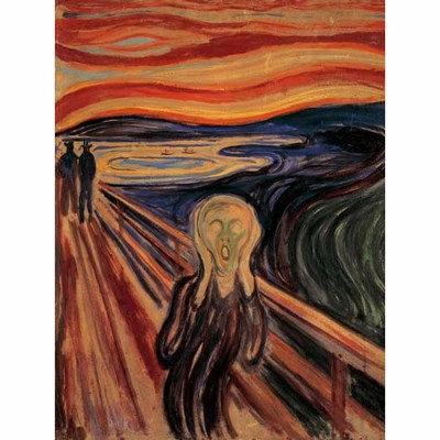 Puzzle Ravensburger-15758 Edvard Munch: The Scream