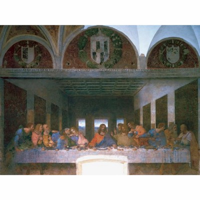 Ravensburger-15776 Jigsaw Puzzle - 1000 Pieces - Leonardo da Vinci : The Last Supper