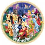 Ravensburger-15784 Jigsaw Puzzle - 1000 Pieces - Round - Disney's Marvellous World