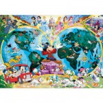 Ravensburger-15785 Jigsaw Puzzle - 1000 Pieces - Disney's Magical World Globe
