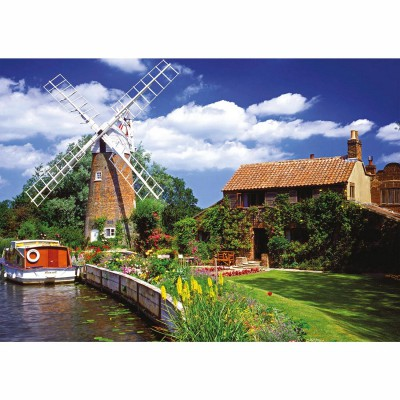 Ravensburger-15786 Jigsaw Puzzle - 1000 Pieces - Windmill