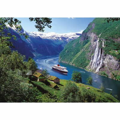 Ravensburger-15804 Jigsaw Puzzle - 1000 Pieces - Norway Fjord