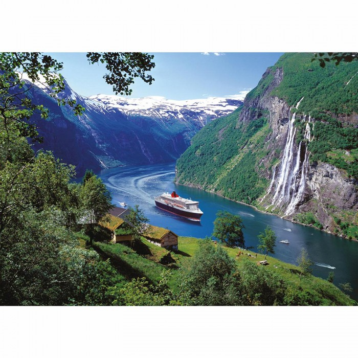 Jigsaw Puzzle - 1000 Pieces - Norway Fjord