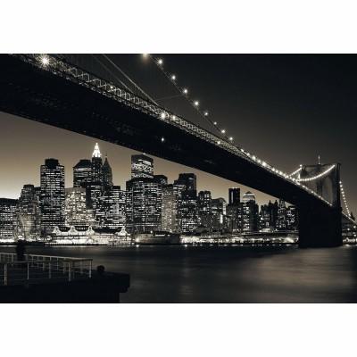 Ravensburger-15835 Jigsaw Puzzle - 1000 Pieces - Brooklyn Bridge, Manhattan